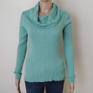 Croft & Barrow Turtle Cowl Neck Thin Sweater